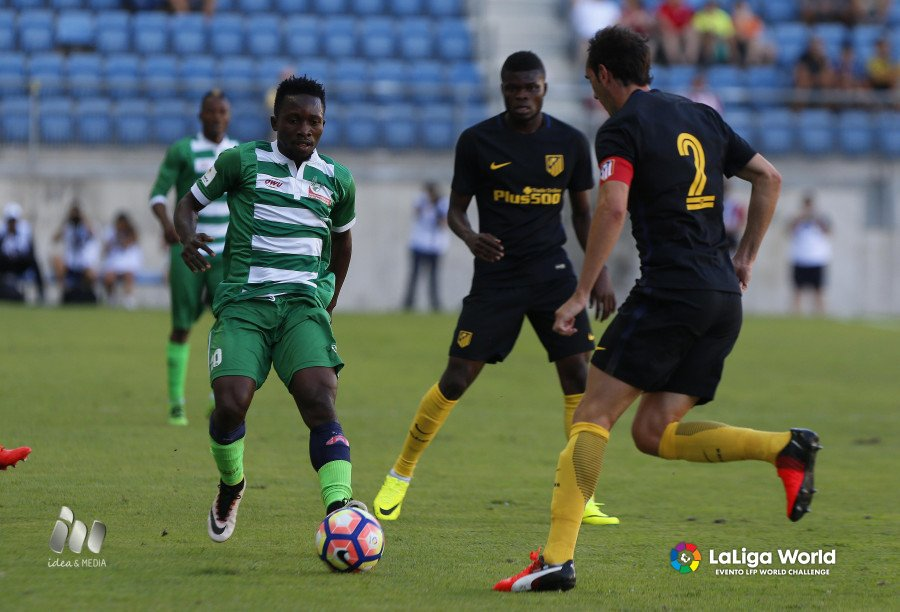 Late Godin Goal Gives Atletico Victory Over NPFL All-Stars