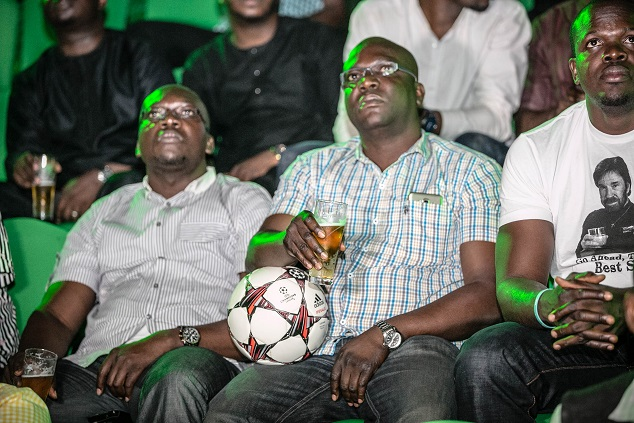 8. Audience watching the unveiling of Heineken's The Prep Talk video with starring Mourinho