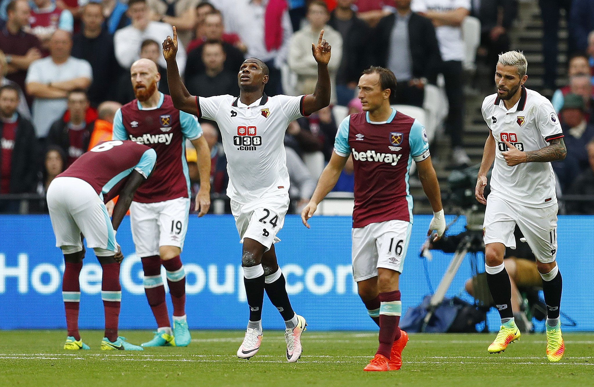 Ighalo Opens Goals Account As Watford Stun West Ham