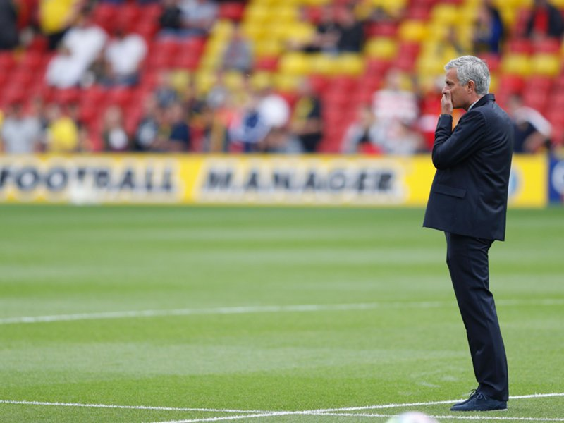 Mourinho Blames Referee, Players' Errors For Warford Defeat