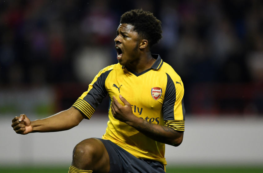 Akpom Eager For More Arsenal Playing Time