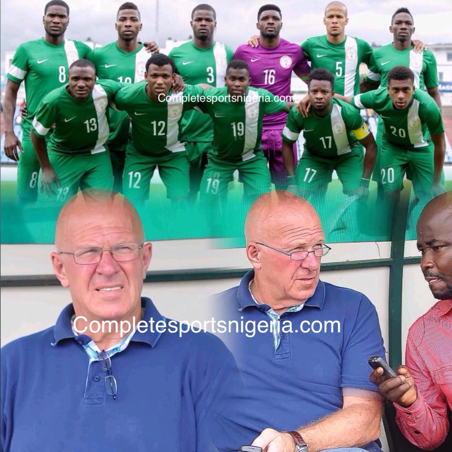 Theo de Jong: Coaching Super Eagles Will Be Great