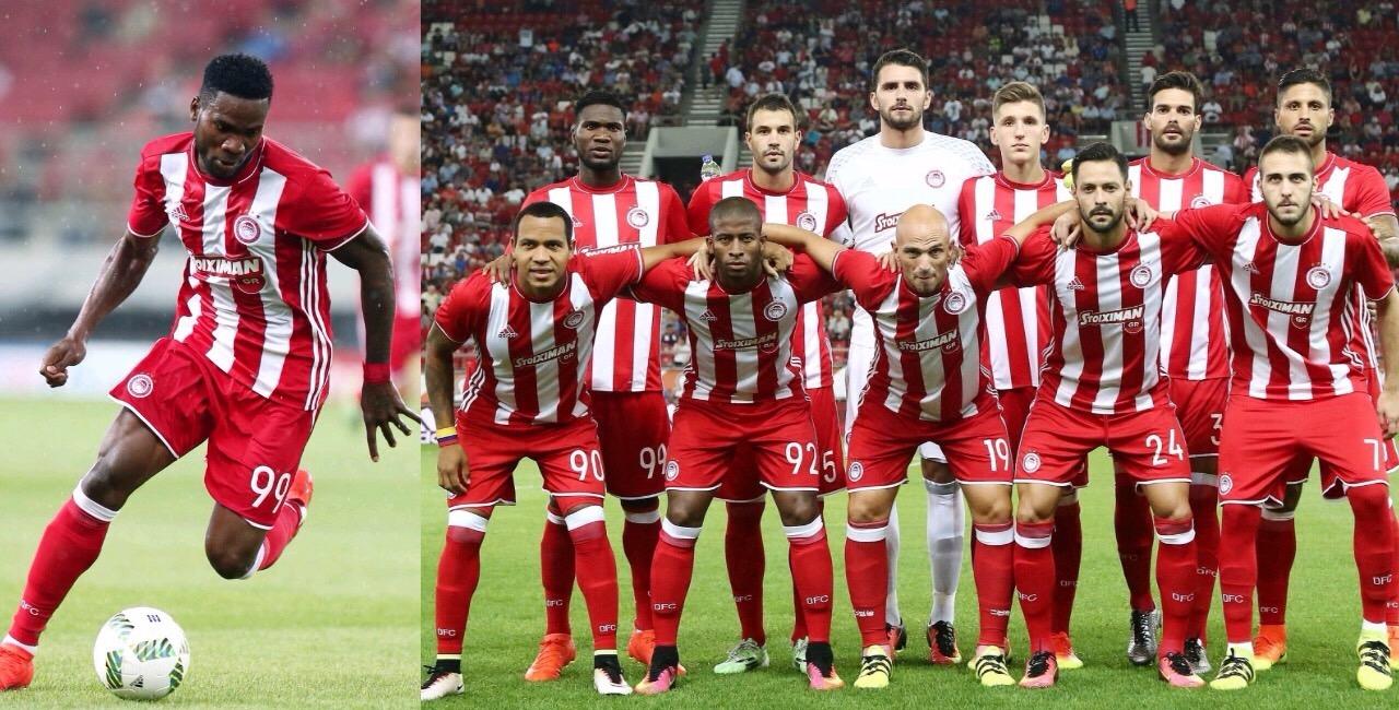 Europa League: Ideye Urges Olympiacos' Improvement Against Apoel Nicosia