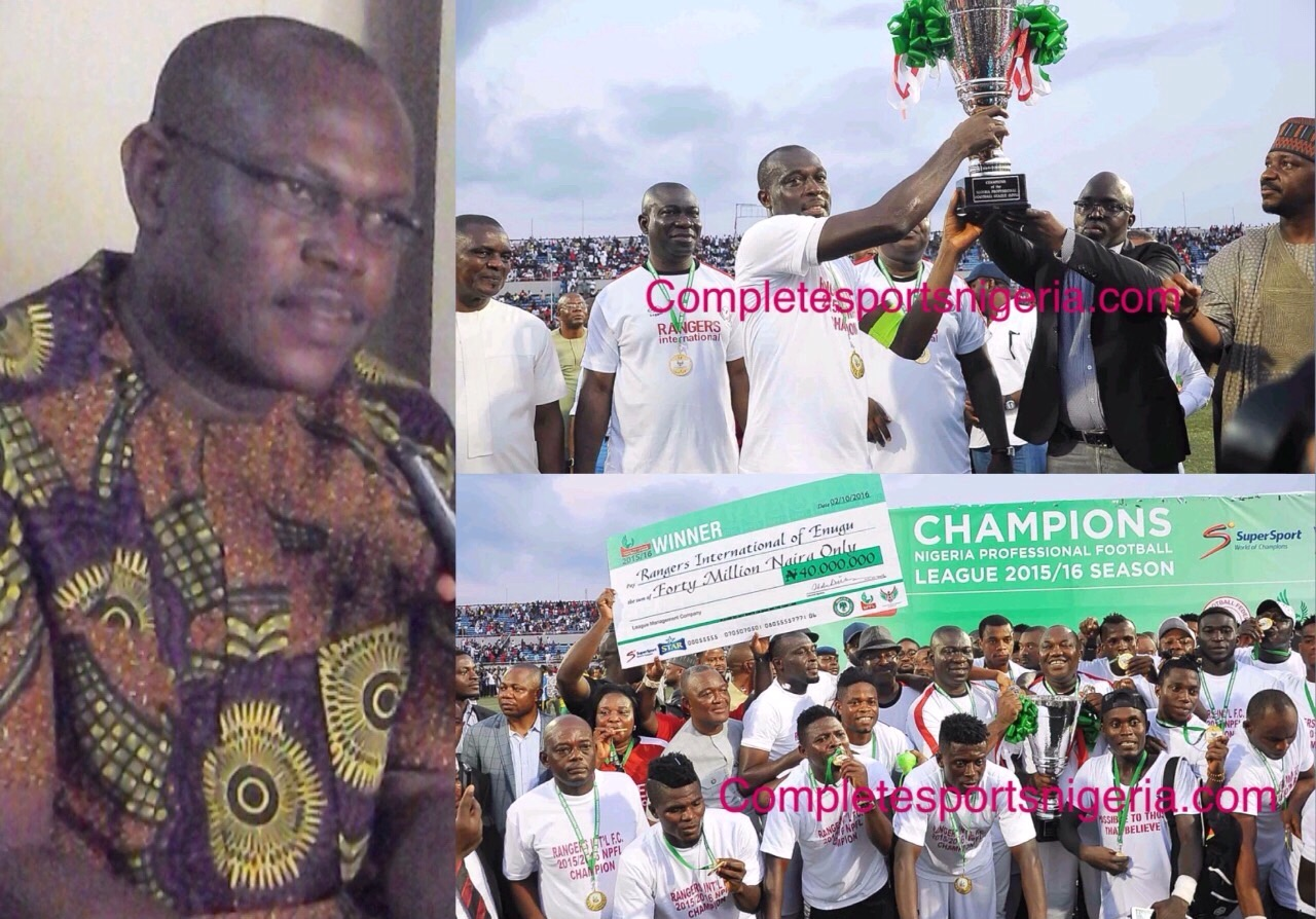 Enugu Sports Commissioner: Rangers Will Break CAFCL  TItle Jinx