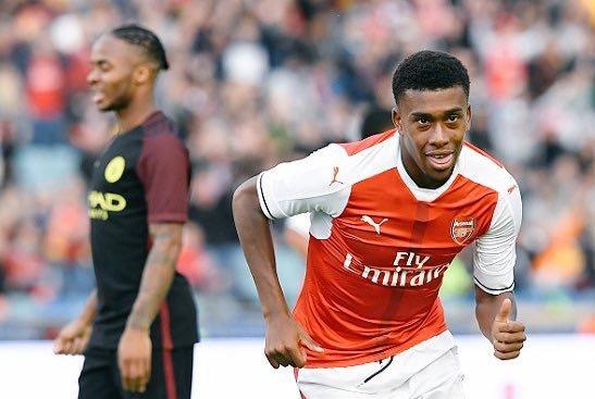 Arsenal Legend, Merson: 'Iwobi Has Good Football Brain'