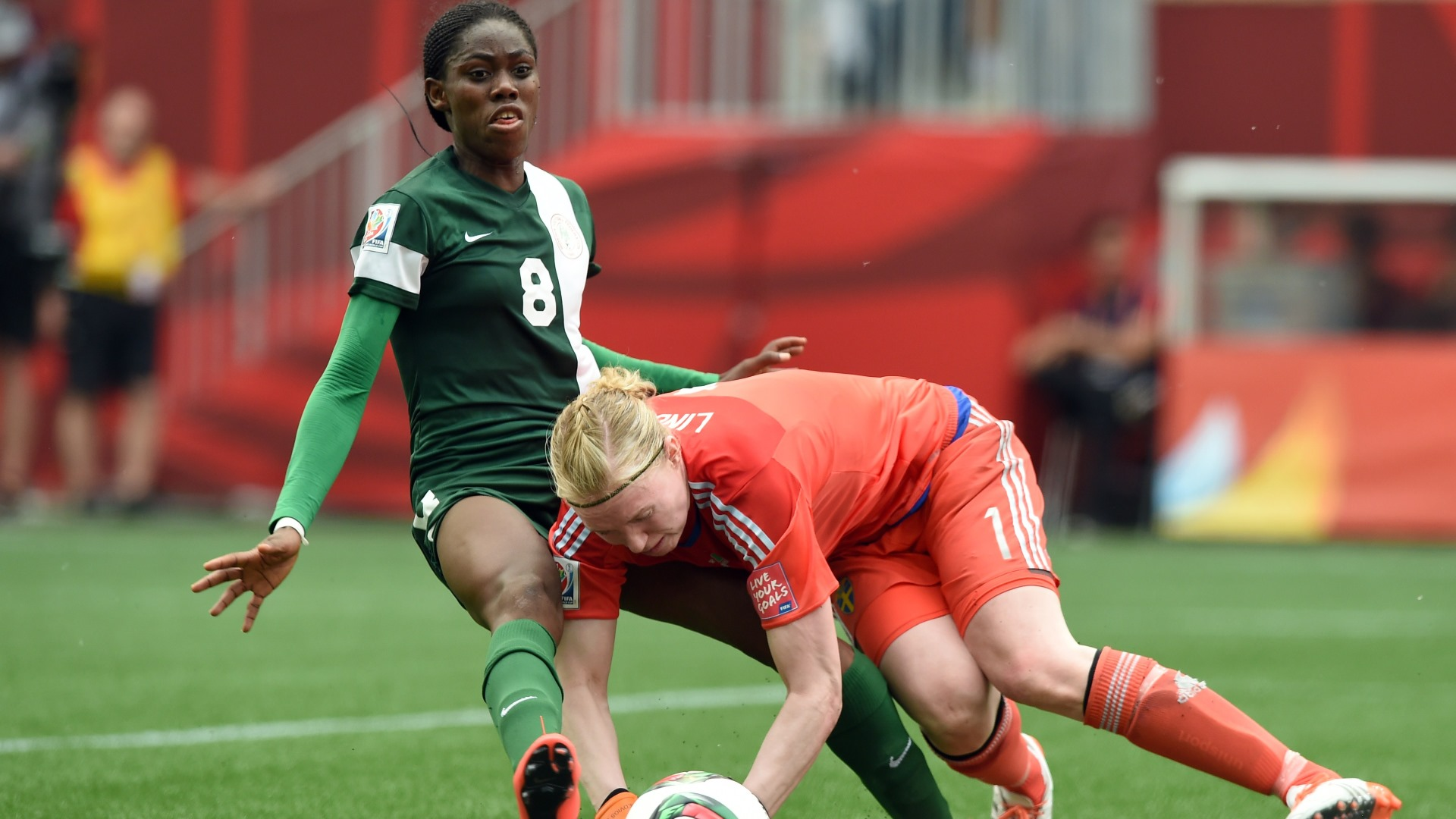 Oshoala, Oparanozie, Ordega Make Falcons Final AWCON Squad