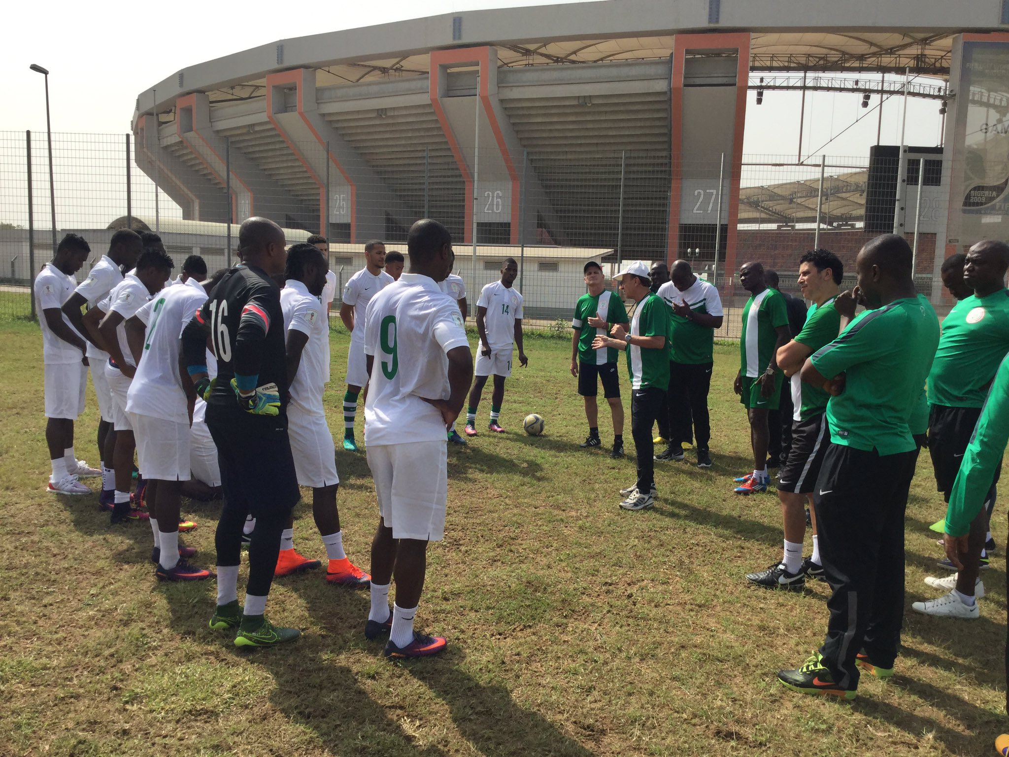 NOTHING FOR ALGERIA! Uyo Fans Sure Super Eagles Will Win