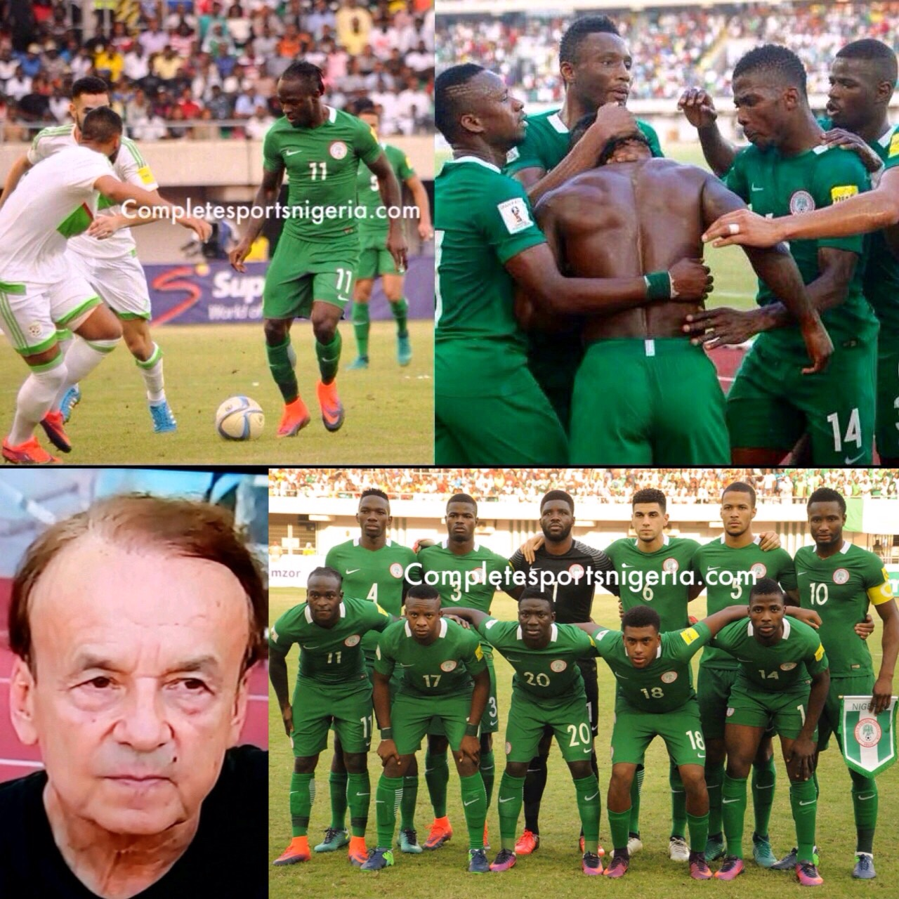 Rohr To Spy On Cameroon, Algeria At AFCON; Promises More Eagles Improvement