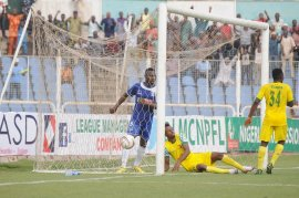 Image result for NPFL: Remo Stars hold 3SC, Akwa United beat Abia Warriors 3-1
