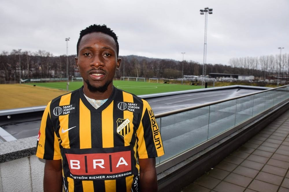 "Egbuchulam Happy To Sign For Sweden's Hacken With ""Real Age"""