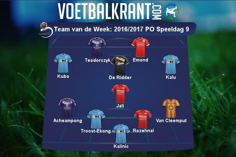 Troost-Ekong, Kalu In Belgian Playoffs Team Of The Week