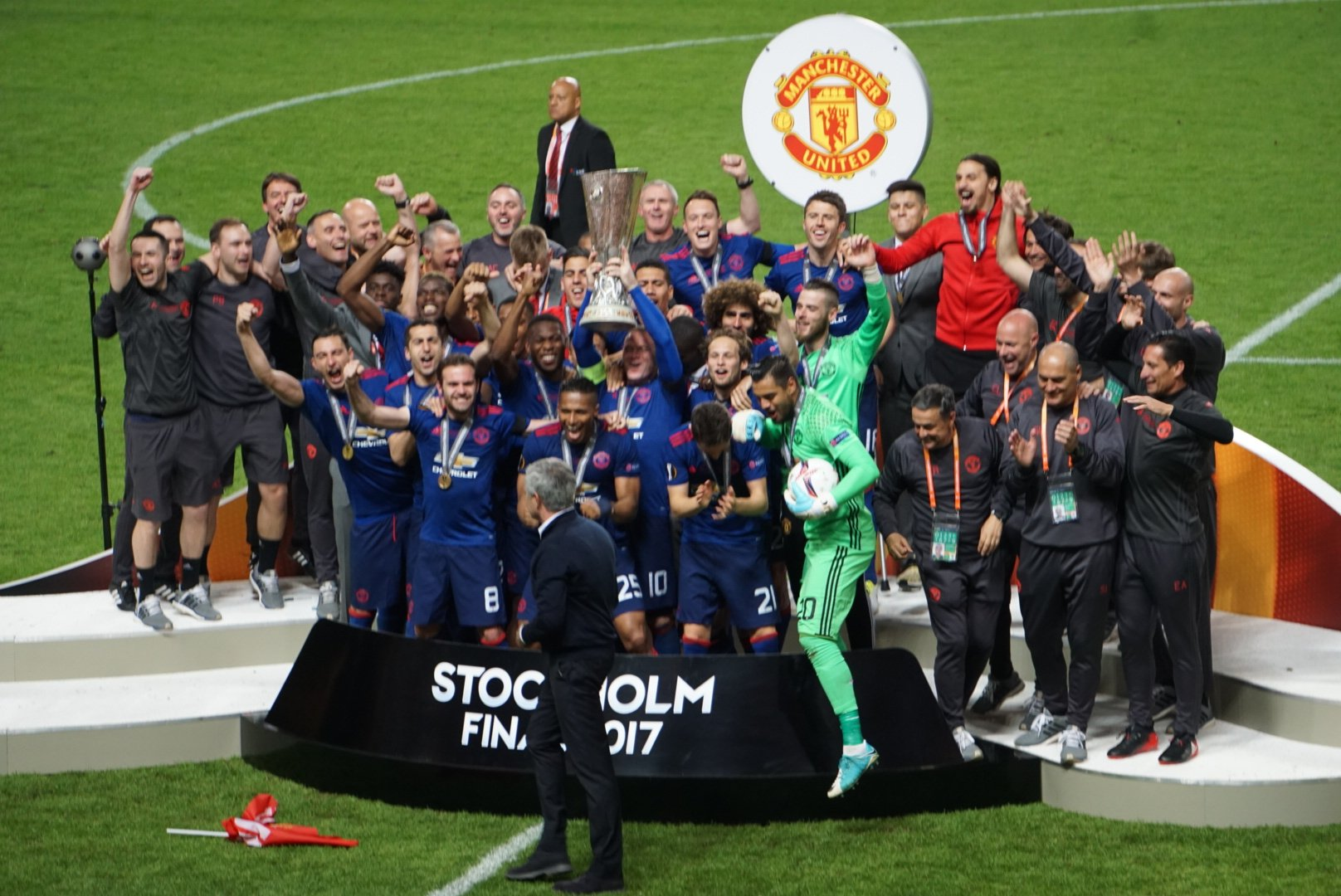 Man United Beat Ajax To Europa League Trophy, Claim UCL Ticket