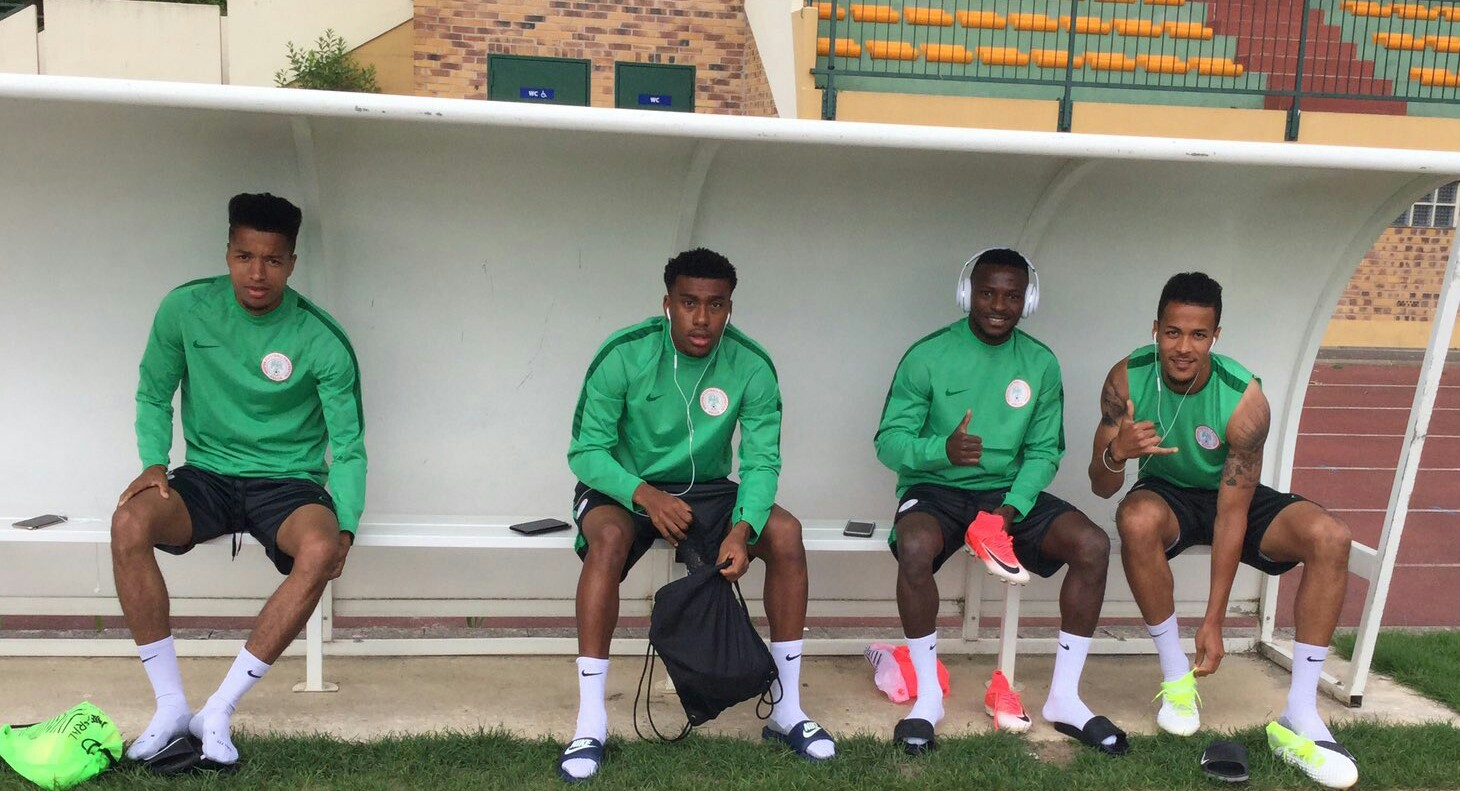 Image result for Nigeria vs Atletico Madrid: Lokosa, Echiejile, Onazi join Eagles camp