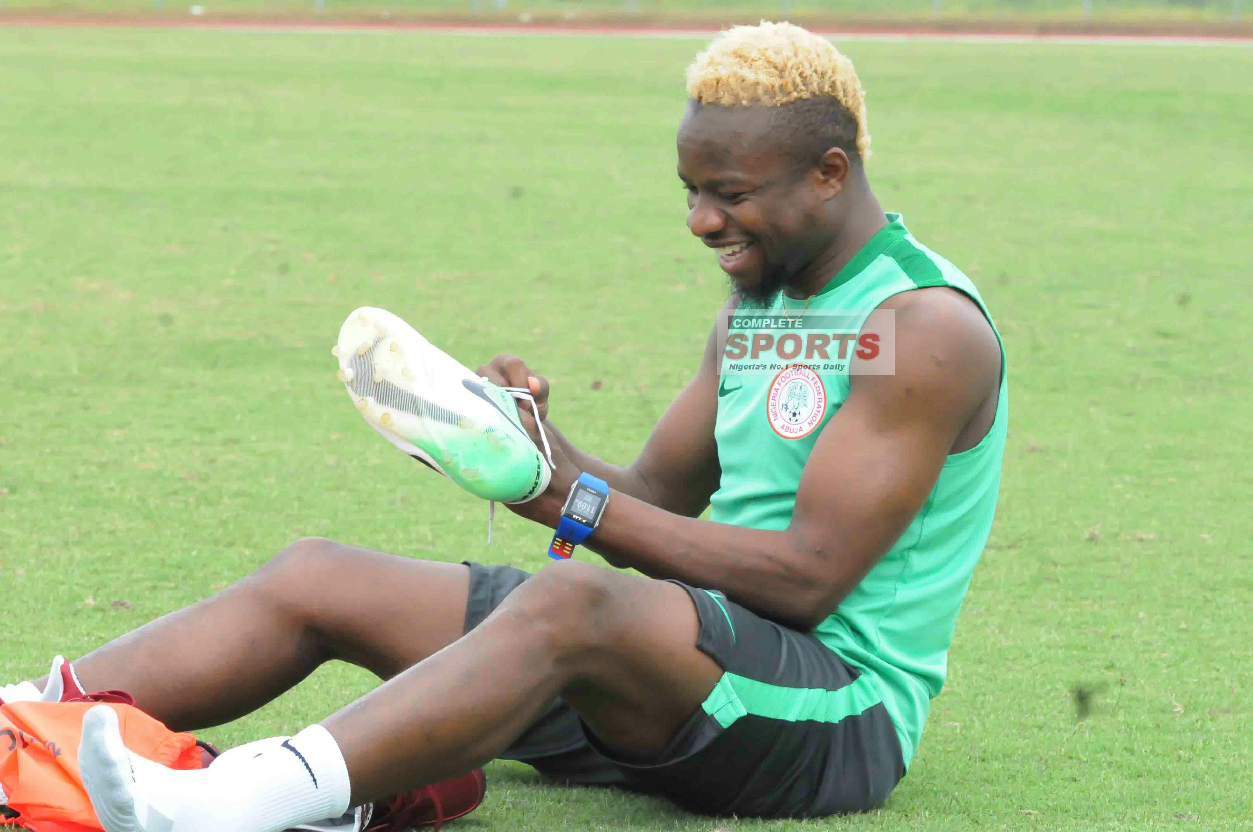 Onazi Eager To Win As Super Eagles Captain Vs Bafana