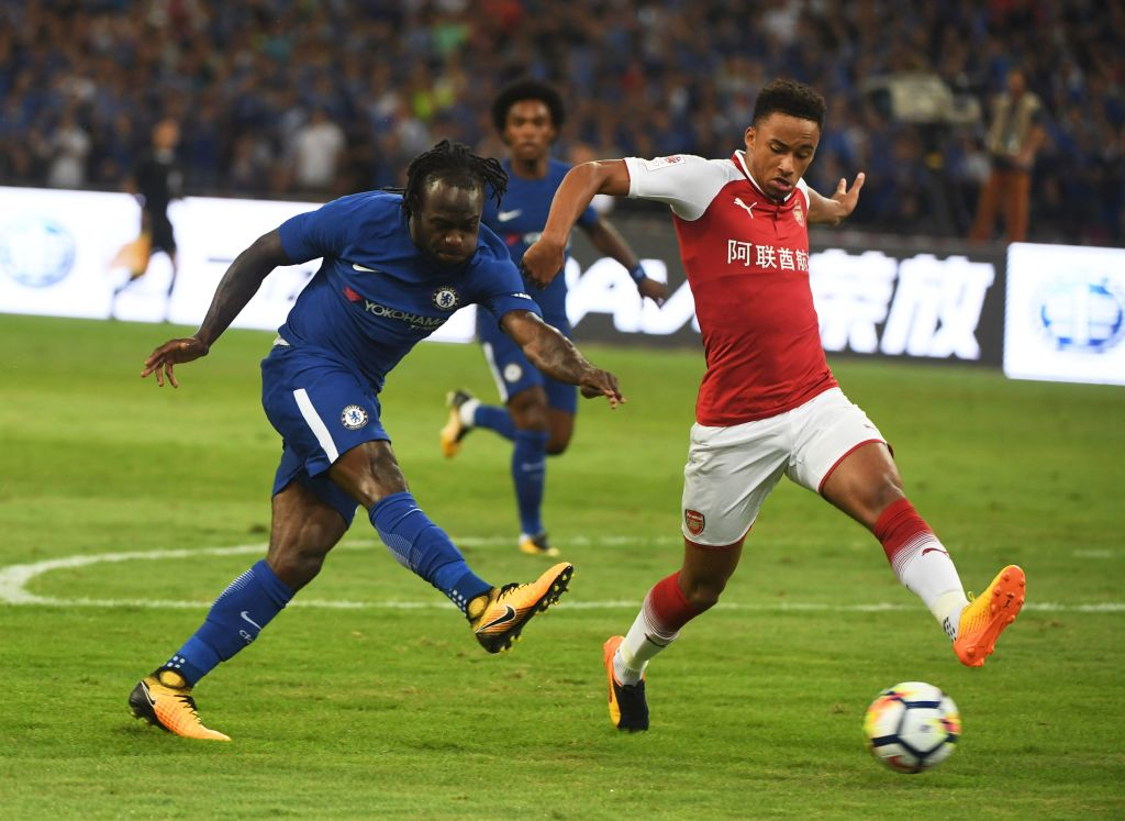 Moses Shines, Batshuayi On Fire As Chelsea Hammer Iwobi's Arsenal