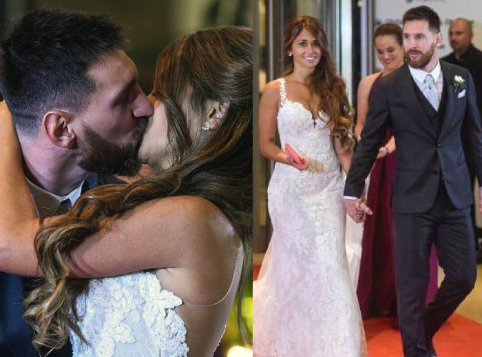 Football, Showbiz Stars Hit Rosario as Messi Weds Childhood Sweetheart