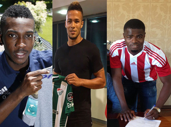 8 Nigerian Players Who Have Found New Homes In Turkey, Belgium