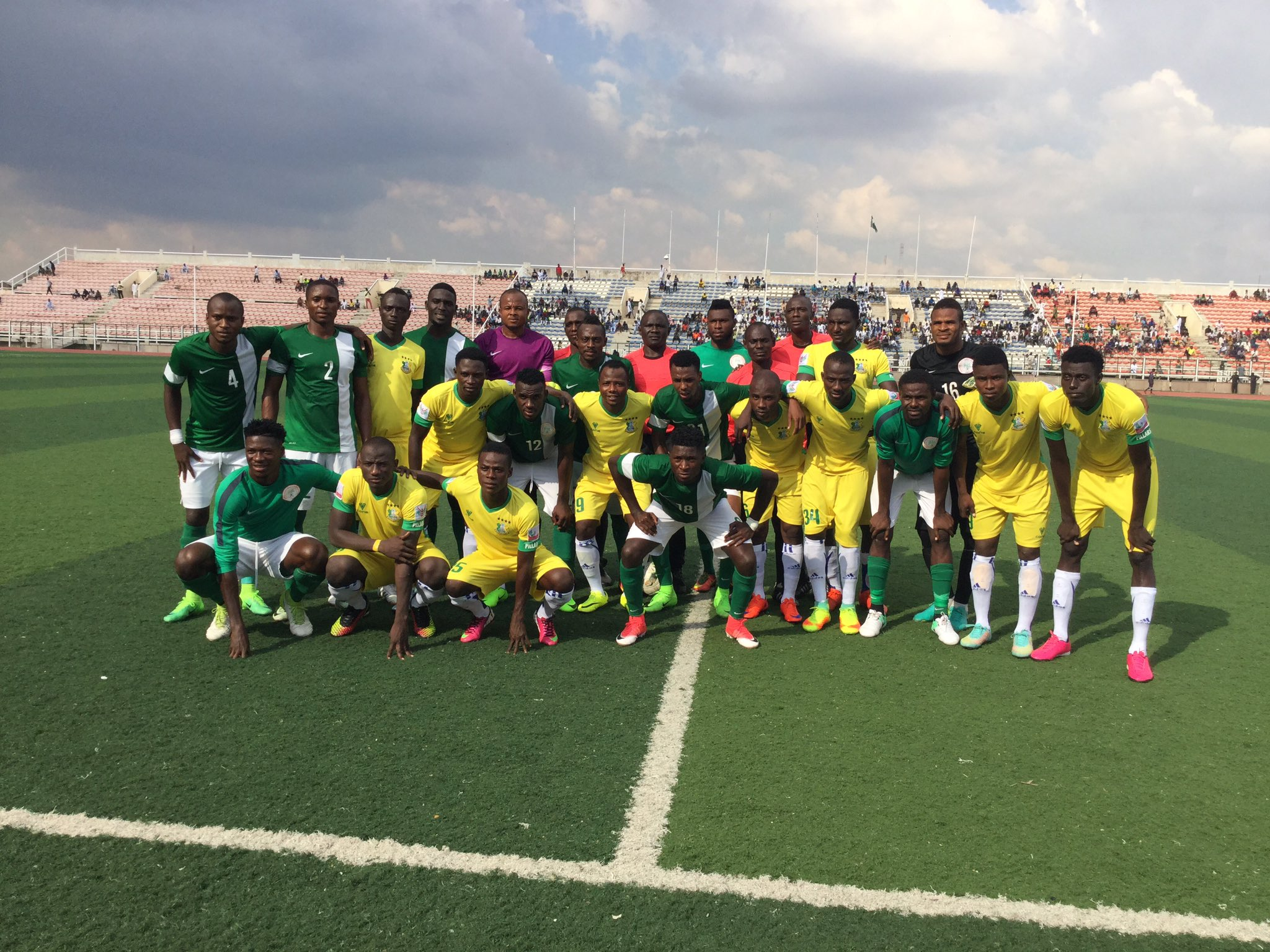 Home based Eagles lose to Benin in CHAN Qualifier