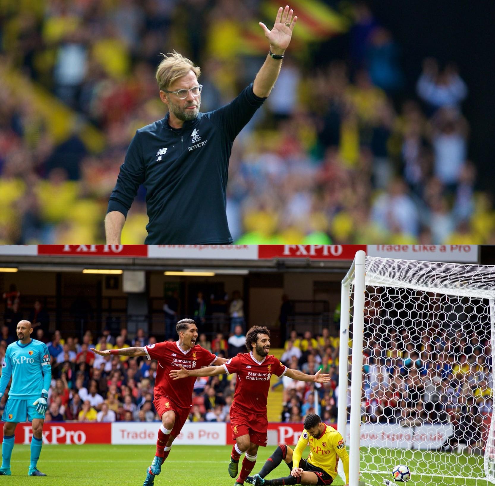 Klopp: Liverpool Unlucky Vs Watford, Equaliser An Offside Goal
