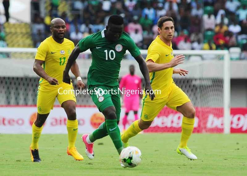 Feirense Confirm Etebo, Alampasu's Super Eagles Call-Ups Vs Cameroon
