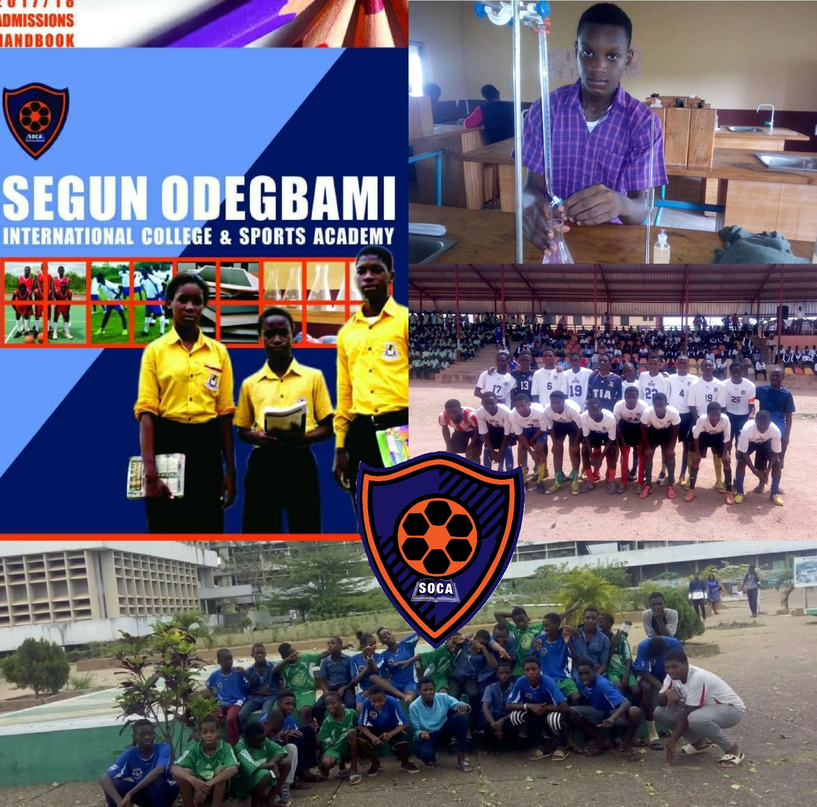 Odegbami: SOCA – The School Of Sports Excellence!