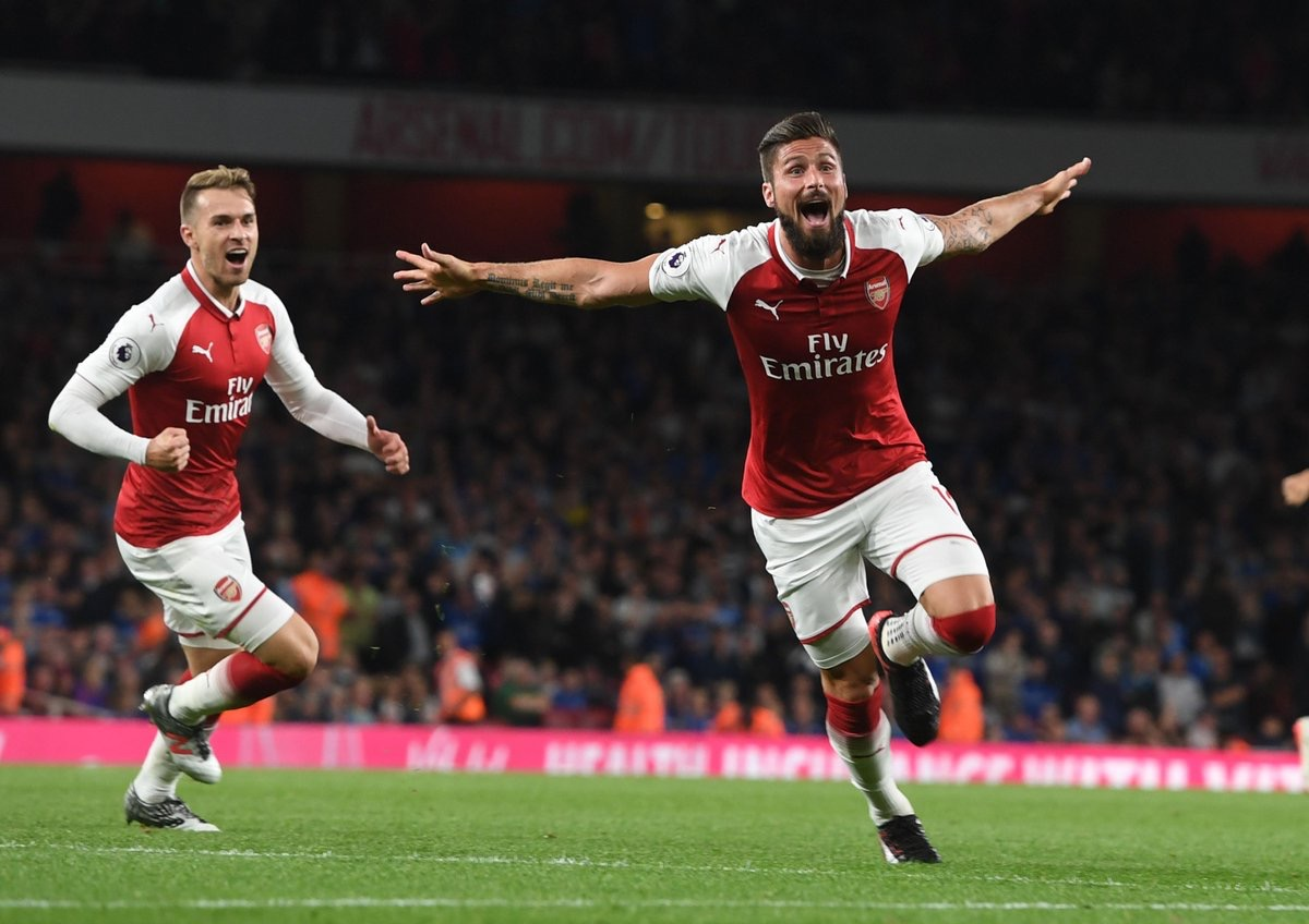 Olivier Giroud confirms Arsenal stay
