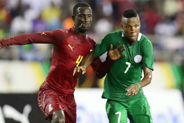 Image result for ghana vs nigeria 2017