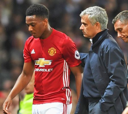 Mourinho Raring To Unleash Resurgent Martial On Southampton, Unsure About Pogba's Return Date