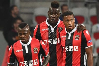 Nice wins Vitesse 3-0 in the UEFA Europa League