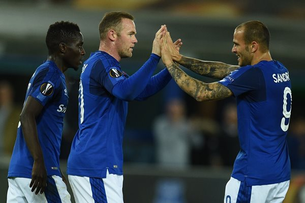 Alhassan Makes Europa League Debut, Rooney Scores In Everton Draw, Milan Win