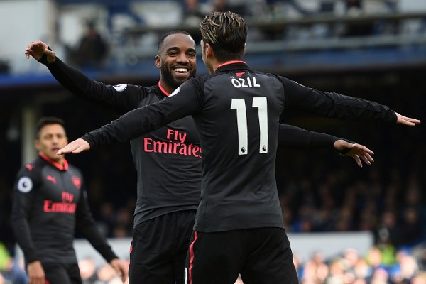 Wenger Hails Arsenal's Excellent Passing, Movement In Comeback Win At Everton
