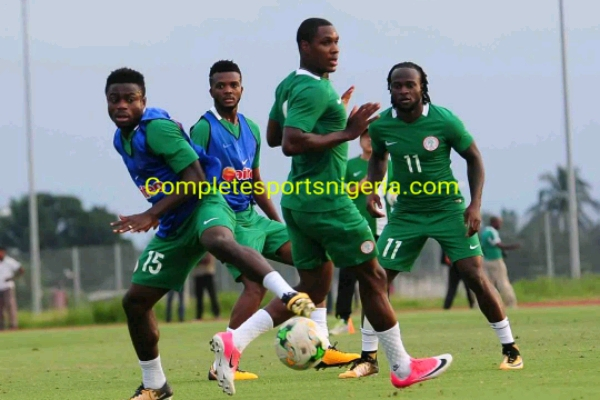 Moses Finally Arrives In Uyo, To Train With Eagles Wednesday Evening