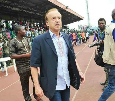 NFF extends Gernot Rohr's contract by 2 years
