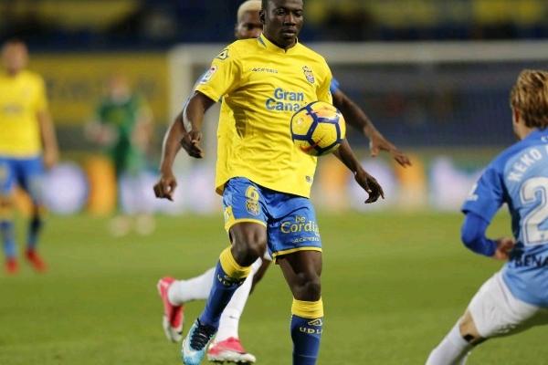 Las Palmas Confirm Etebo's Call-Up For Super Eagles' Poland, Serbia Friendlies