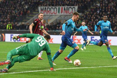 bonucci-arsenal-ac milan-europa league-completesportsnigeria.com-csn