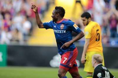 Ahmed Musa fires CSKA to Champions League