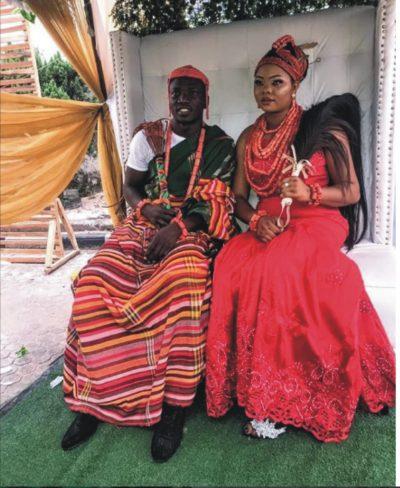 Super Eagles Star Etebo Gets Married In Warri