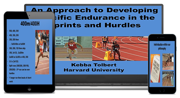 Kebba Tolbert Specific Endurance for Sprints and Hurdles