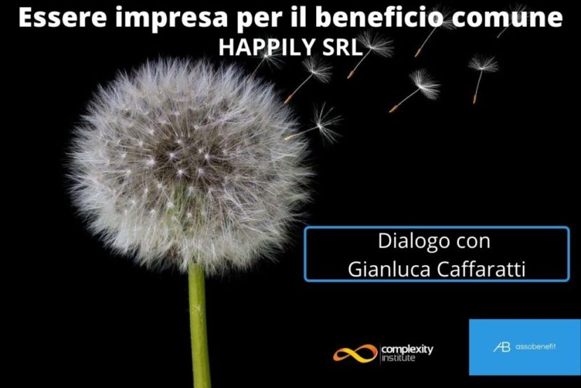 Essere impresa di beneficio comune - Happily