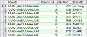 What is ROWID and ROWNUM in SQL?