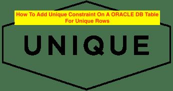 SQL Unique Constraint
