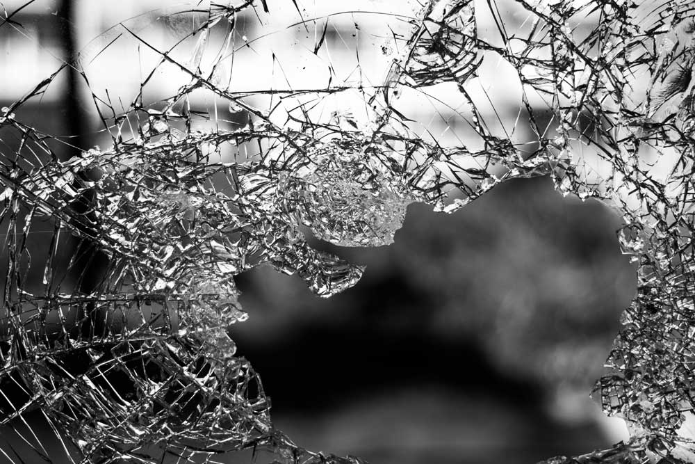 Shattered glass window-complex trauma