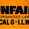 union protest sign