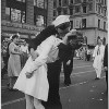 kissing sailor in Times Square, New York City