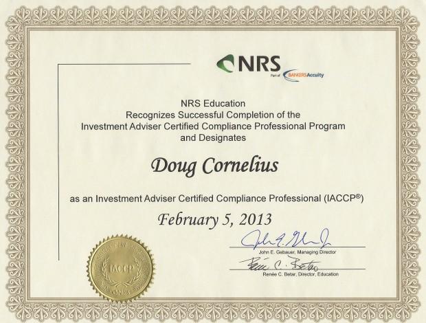 IACCP Certification