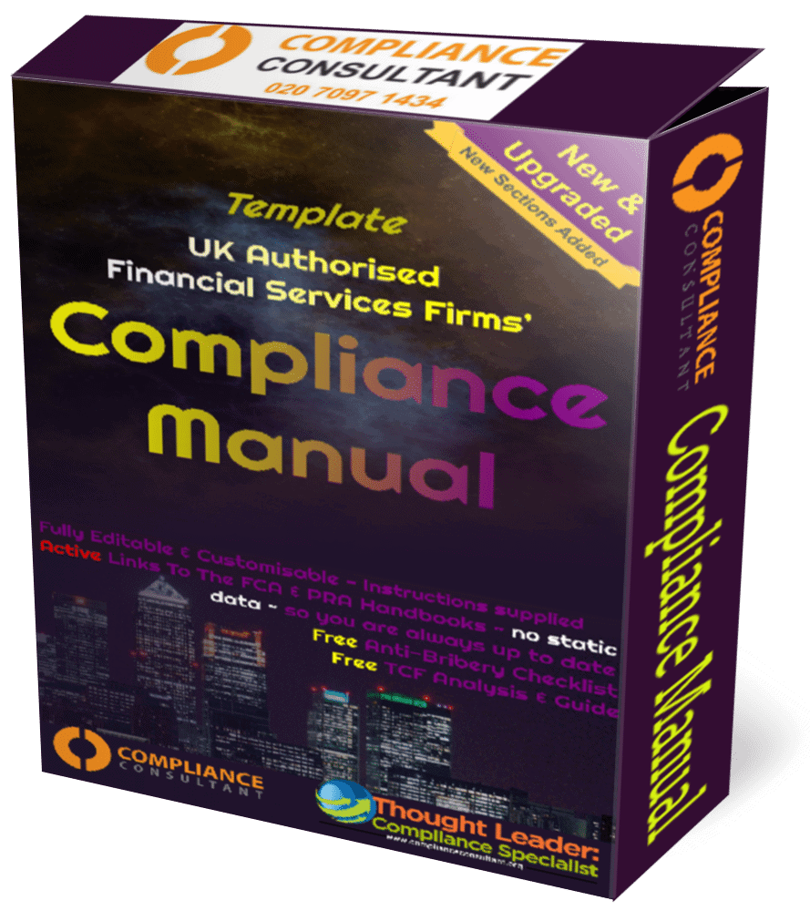 Home / Manuals / Compliance Manual