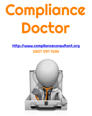 compliance doctor compliance consultants london