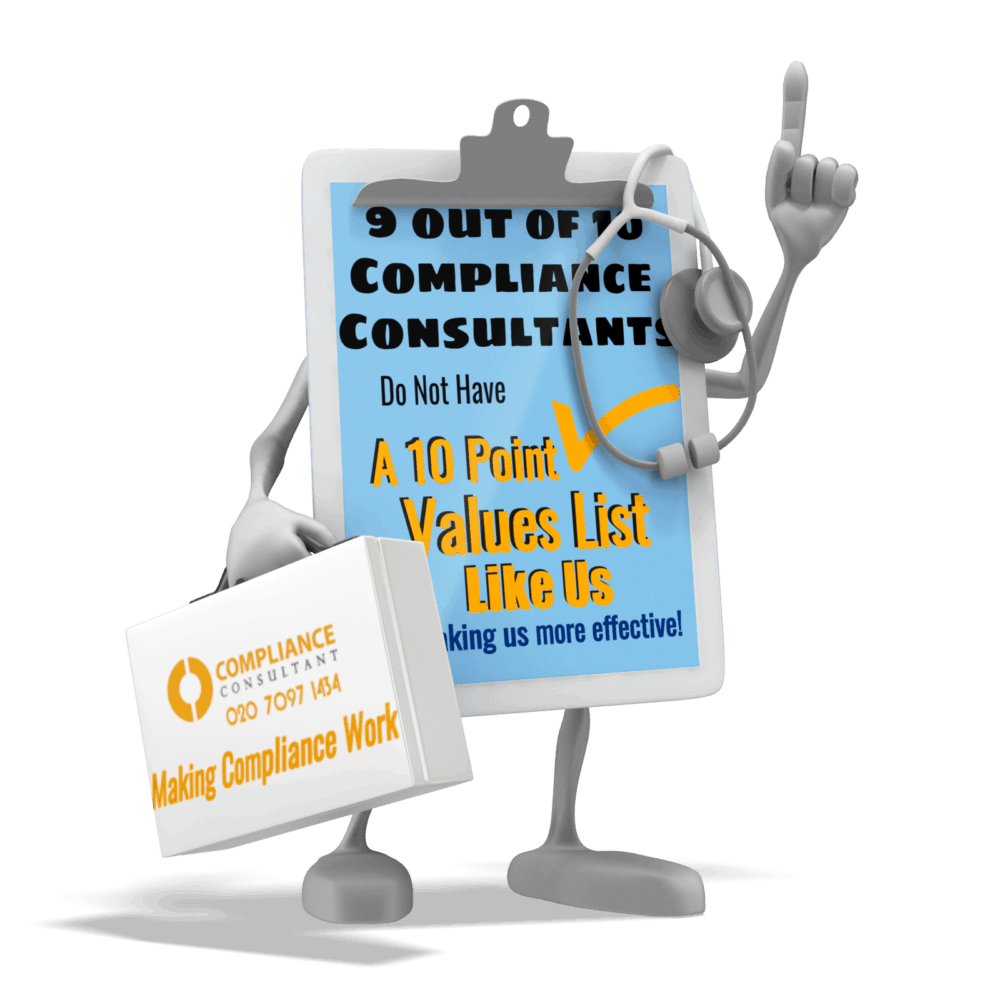 values compliance consultant london compliance framework annual monitoring plan