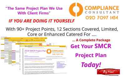 smcr project plan what is and regulation of