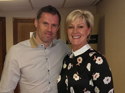 Jamie Carragher and Dawn